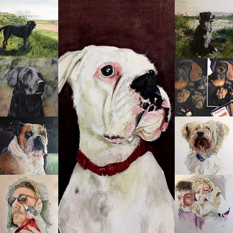 Pet portraits by Jon Elworthy